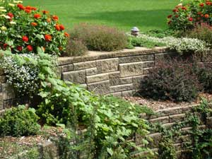 Retaining Wall Terrace - AB Collection